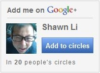 Fine me on Google Plus
